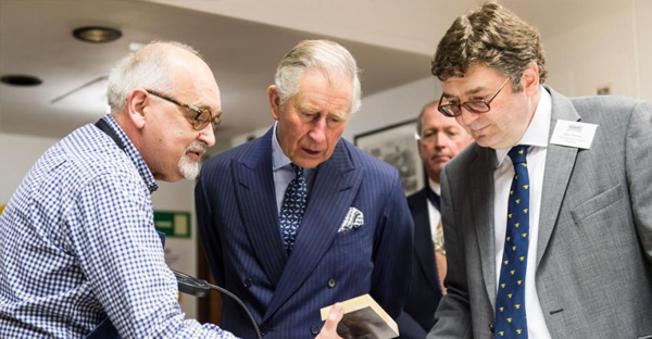 Prince Charles, Prince of Wales visits the St Bride Foundation on February 5, 2015 in London, England. (Photo by Ian Gavan - WPA Pool/Getty Images)
