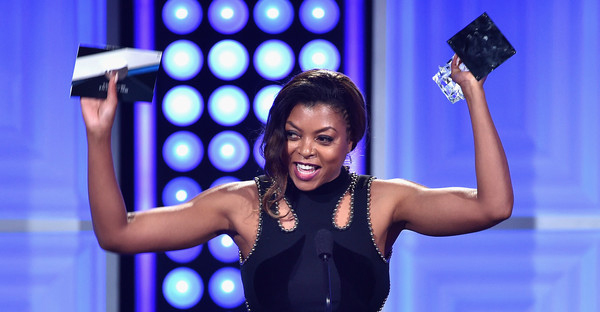 "Actress Taraji P. Henson accepts the Best Actress in a Drama Series award for ""Empire"" onstage at the 5th Annual Critics' Choice Television Awards at The Beverly Hilton Hotel on May 31, 2015 in Beverly Hills, California. (Kevin Winter/Getty Images North America)"