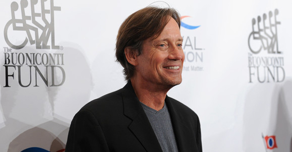 Actor Kevin Sorbo attends the 29th Annual Great Sports Legends Dinner to benefit The Buoniconti Fund to Cure Paralysis at The Waldorf Astoria on September 29, 2014 in New York City. (Bryan Bedder/Getty Images North America)