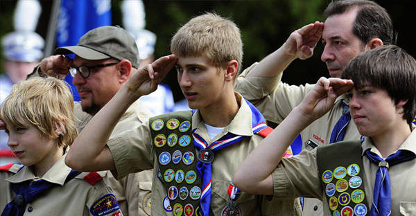 Boy Scouts (AFP/Getty Images)