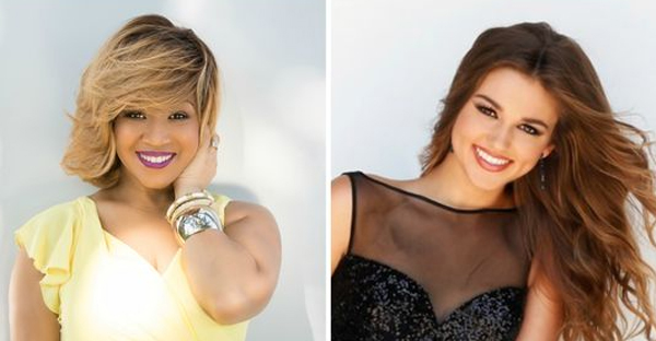 Erica Campbell, left, and Sadie Robertson, right, will co-host the Dove Awards. (Photo: Submitted)