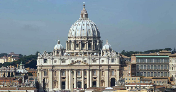 St. Peter's Basilica will house at least one refugee family fleeing war and persecution under a plan announced by Pope Francis Sunday. The Vatican city-state's other parish church, St. Anne's, will do the same. (AP Photo)