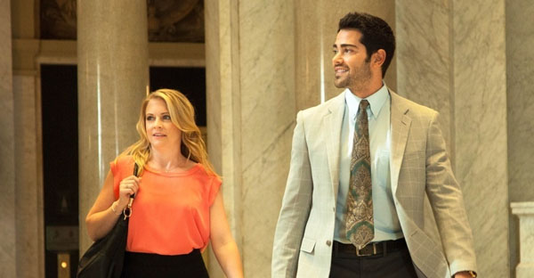 """Melissa Joan Hart and Jesse Metcalf star in """"God's Not Dead 2: He's Surely Alive."""" (PHOTO: COURTESY OF PURE FLIX)"""