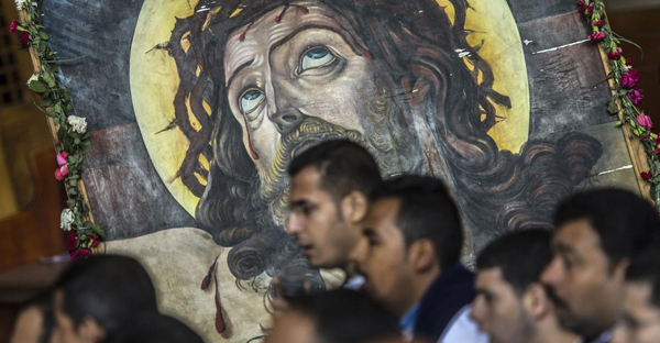 Christians make up approximately ten per cent of Egypt's population (KHALED DESOUKI/AFP/Getty Images)
