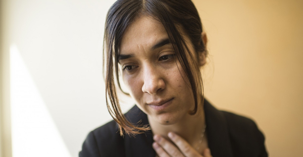 Nadia Murad, 22, is a Yazidi woman from Iraq whose mother and five brothers were slain by Islamic State militants. Murad, who was held captive by the militants, is speaking out about the cruelty and violence faced by Yazidis in Iraq. (Nikki Kahn/The Washington Post)