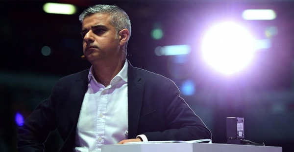 Sadiq Khan, Labour Party candidate for London mayor. (Leon Neal/AFP)