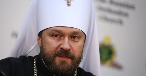 Hilarion Alfeyev, a bishop in the Russian church, said the Russian Orthodox church would not take part if all churches were not present. (Photograph: Anton Novoderezhkin/Tass)
