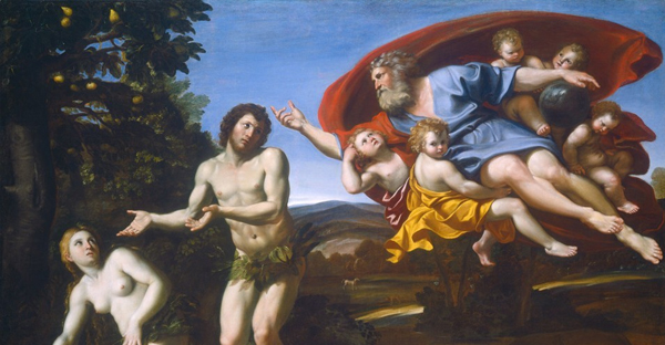 Italian artist Domenichino's The Rebuke of Adam and Eve (Patrons' Permanent Fund / National Gallery of Art)