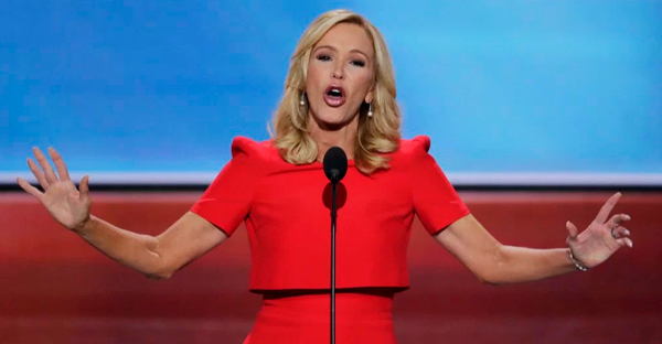 Paula White speaks at the 2016 Republican National Convention