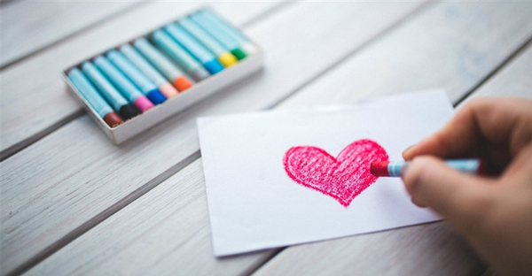 person-coloring-a-heart