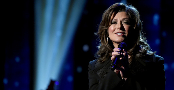 Singer-songwriter Amy Grant performs on stage during the CMA 2016 Country Christmas on November 8, 2016 in Nashville, Tennessee. (Rick Diamond/Getty Images North America)
