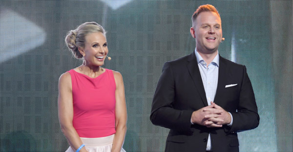 Elisabeth Hasselbeck and Matthew West (Credit: Jason Davis/Getty Images for K-LOVE)
