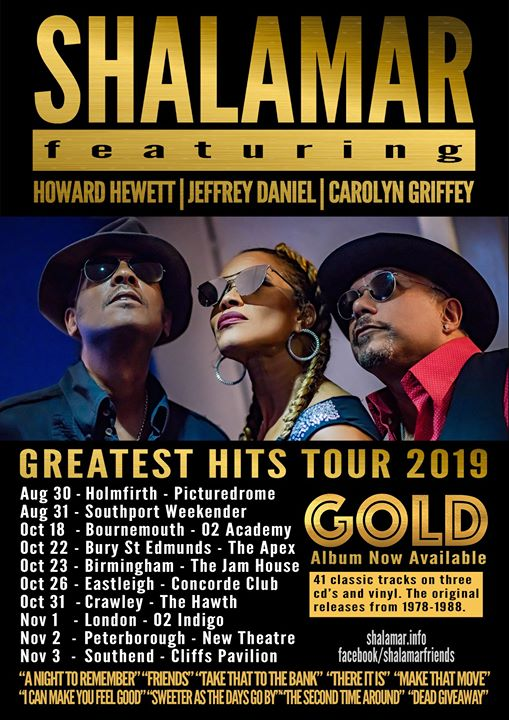 Shalamar at The Hawth Crawley
