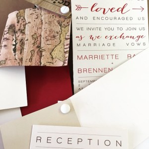 The Ingredients to a Perfect Rustic Invitation