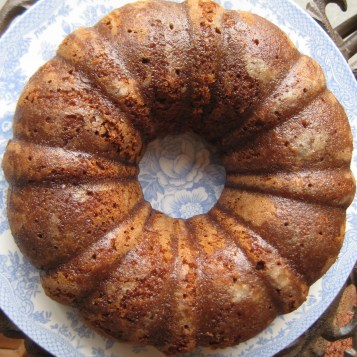 Orange Cardamom Coffee Cake