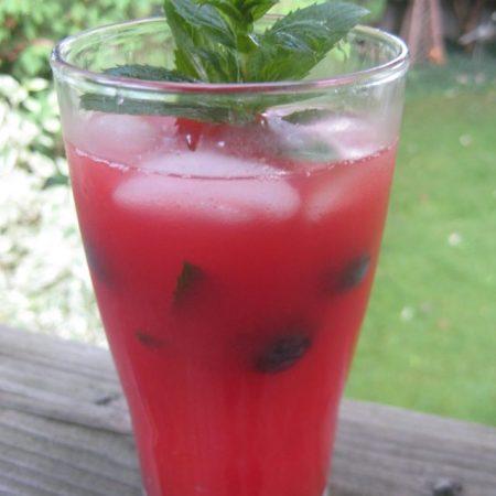Watermelon Vodka Splash   © UrbanCottageLife.com
