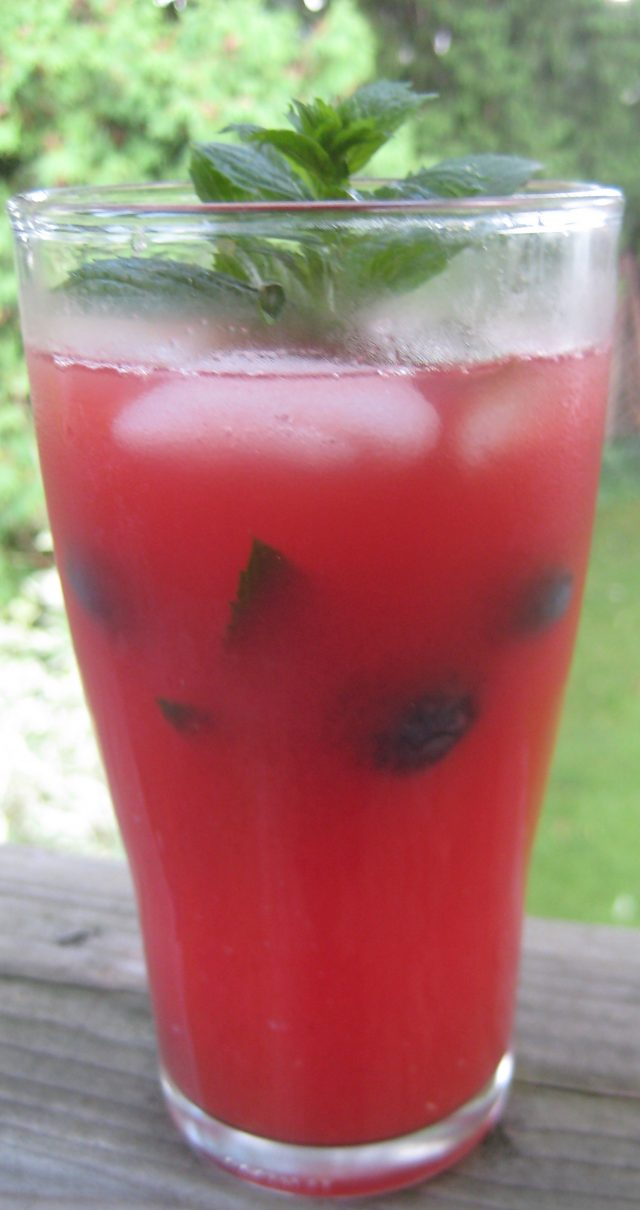 Watermelon Vodka Splash | © UrbanCottageLife.com