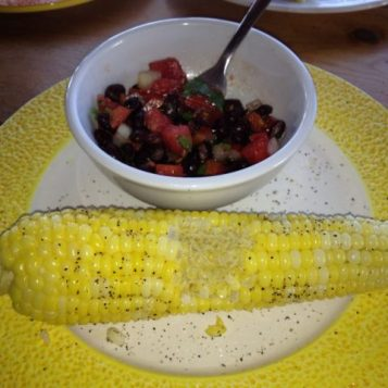 Boiled Corn on the Cob | © UrbanCottageLife.com