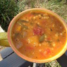 Late Summer Soup | © UrbanCottageLife.com