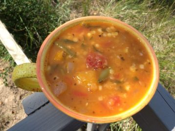 Late Summer Soup | © UrbanCottageLife.com