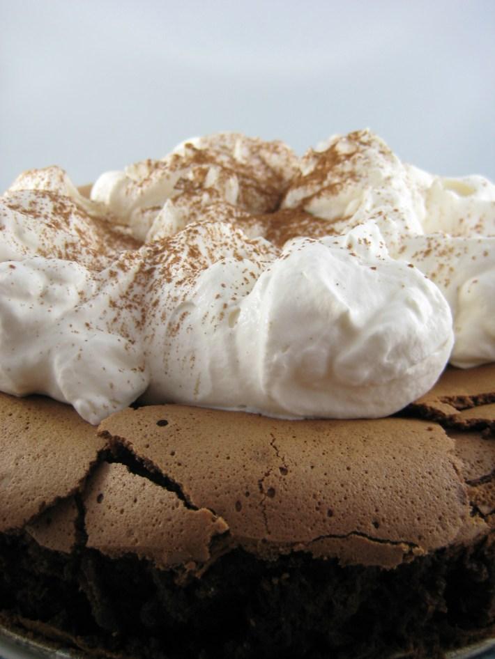Chocolate Cloud Cake | © Life Through the Kitchen Window.com