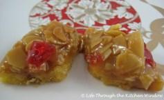Glazed Nut Diamonds