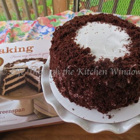 Devil's Food White-Out Cake From Dorie Greenspan's Baking: From my home to yours | © UrbanCottageLife.com