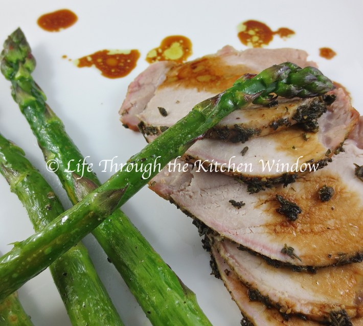 Roast Pork with Thyme & Sage | © Life Through the Kitchen Window