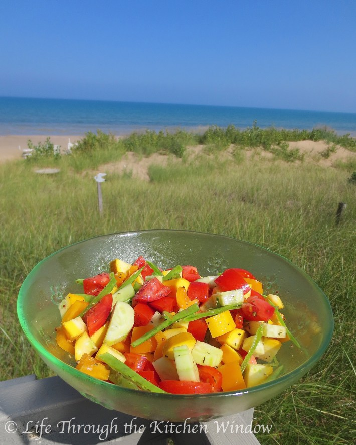 Summer Jumble Salad | © Life Through the Kitchen Window
