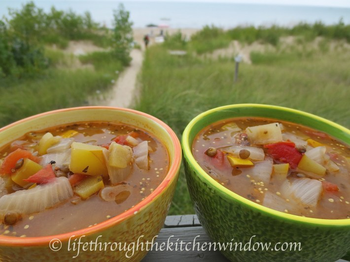 Zucchini Soup│© Life Through the Kitchen Window
