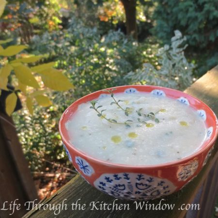Celeriac Soup   © Life Through the Kitchen Window .com