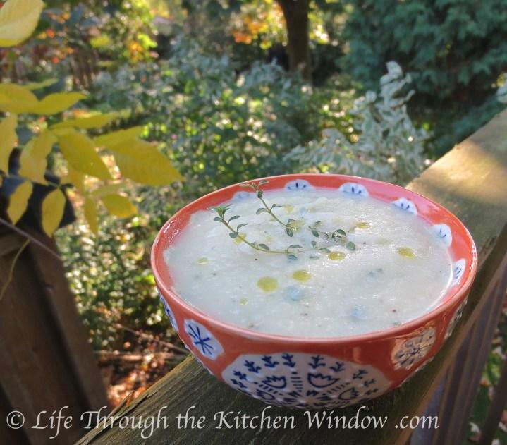 Celeriac Soup | © Life Through the Kitchen Window .com