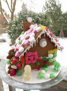 Gingerbread House Fun   © Life Through the Kitchen Window.com