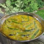 Asparagus & Onion Frittata |© UrbanCottageLife.com