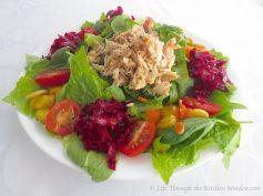 Summery Winter Salads | © Life Through the Kitchen Window.com