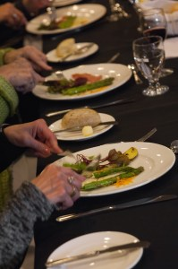 The Meal Tasting | Photo © 2015 Stephen Grimes, Canada