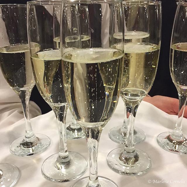Champagne Reception The Meal 2015 | © Marlene Cornelis