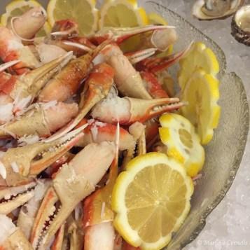 Snow Crab Claws The Meal 2015   © Marlene Cornelis