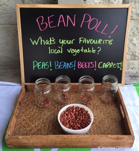 Bean Poll! | © Marlene Cornelis