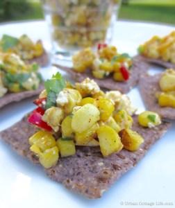 Grilled Corn Salsa | © Urban Cottage Life.com