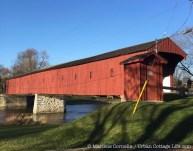 The Kissing Bridge, West Montrose   © 2015 Marlene Cornelis