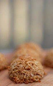 Coconut Sugar Macaroon Bites |© UrbanCottageLife.com