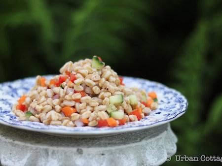 Farro Salad | © UrbanCottageLife.com