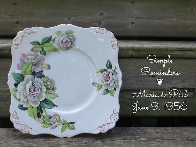 Cake Plate Memories | © UrbanCottageLife.com