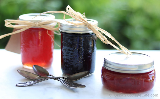 Jams & Jellies |© UrbanCottageLife.com