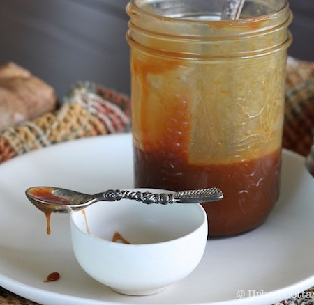 Classic Caramel Sauce | © Urban Cottage Life.com 2016