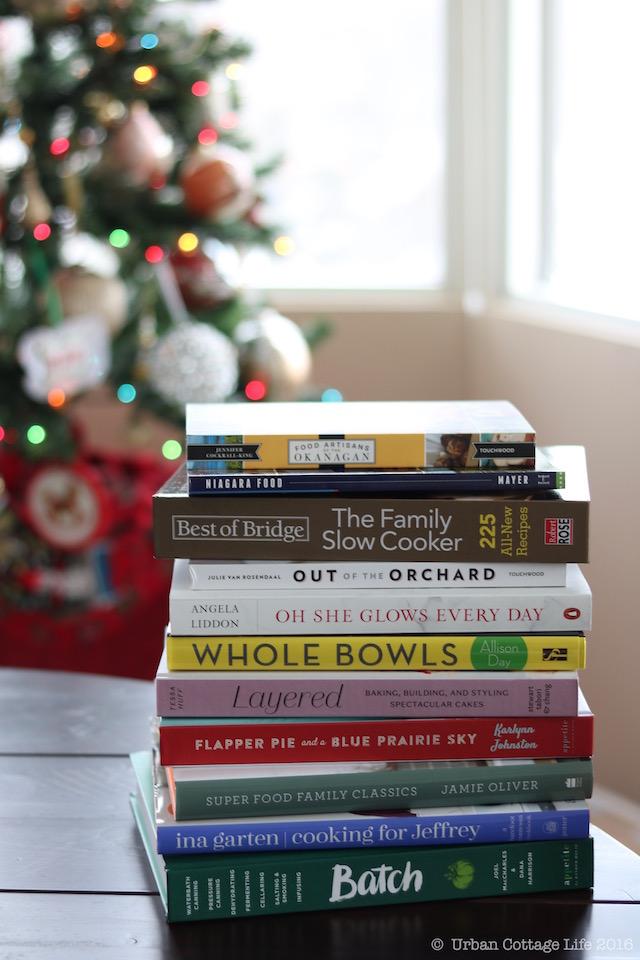 Cookbook Gift Guide 2016   © UrbanCottageLife.com 2016