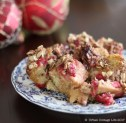 Raspberry Chocolate Bread Pudding   © UrbanCottageLife.com 2017