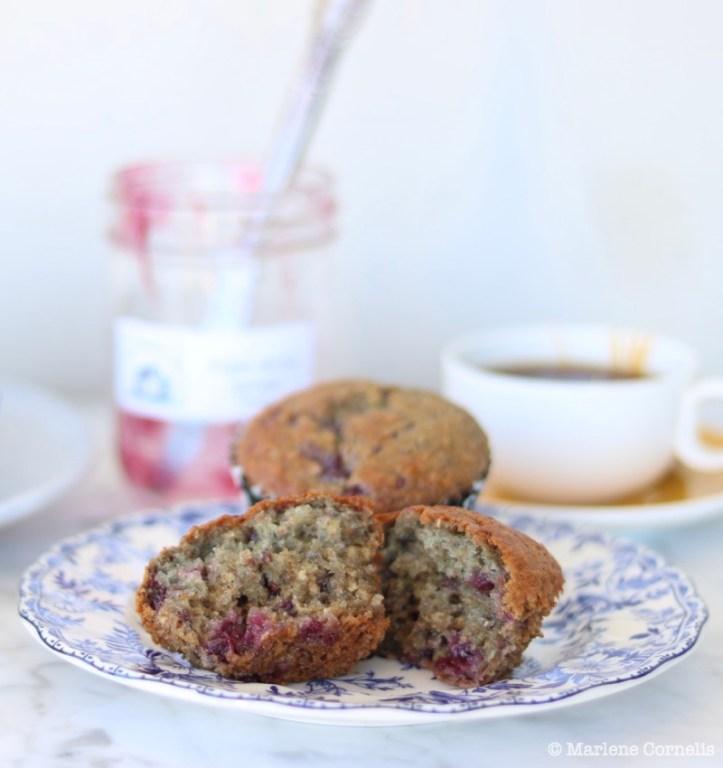Triple Berry Jam Muffins ❘ © UrbanCottageLife.com