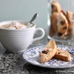 Hazelnut, Sour Cherry and Orange Biscotti ❘ UrbanCottageLife.com